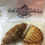 東京メロンパン - クロワッサンとラズベリーパイ