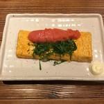 宮崎県日南市 塚田農場 - たらこ乗せ卵焼き、650円です。