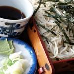 近江家 - ざる蕎麦