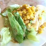 コーンブルメ - サラダバーのサラダ