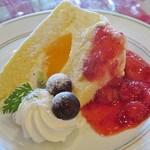 カンパーニャ - デザートのケーキは自家製?