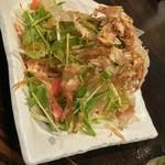 浜の牡蠣小屋 - 大根サラダ