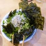 Mekikinoginji - 海苔のりサラダ