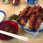天元豚とんかつ浜 - ソースかつ丼 800円