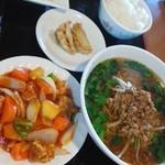 中国台湾料理 唐人館 - 酢豚定食・ラーメンは台湾ラーメン
