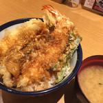 天丼てんや - 大海老穴子天丼 980円