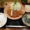 とんかつ はやみ - 料理写真:とんかつ ¥650-