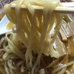 60233952 - ラーメン 麺アップ