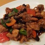 60235593 - 鶏もも肉の唐辛子炒め山椒風味 2016.12月