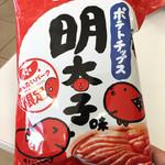60236414 - ポテトチップス明太子味(限定品)