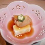 60237255 - 先付(湯葉豆腐)