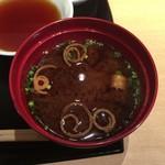 てんぷら食堂 ひさご - 味噌汁