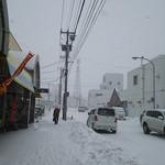 らーめん工房 魚一 - 道路向かいは釧路和商市場だ!