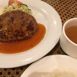 プチレストラン ぱーとな - ハンバーグランチ