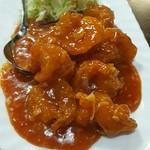 中国料理 東昇餃子楼 - エビチリ