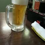 中国料理 東昇餃子楼 - 生ビール