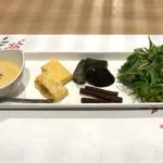彩花亭 - 前菜5種