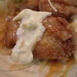 キリンケラーヤマト - チキン南蛮、唐揚状になってるから食べやすかったねん♪