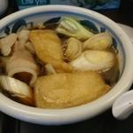 60241895 - 肉汁うどんのスープ