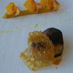 60242814 - フォワグラポワレ 安納芋 焼きオレンジ デーツビネガー