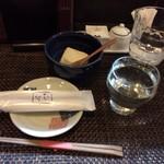 60243116 - 日本酒とお通し
