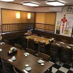 中華料理 龍縁 - 宴会時テーブル席
