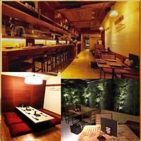 串勝 六角屋 - 当店唯一の掘りごたつの個室やテラス席がございます。