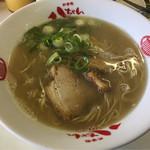 60247455 - 濃厚スープが美味しいけどスープが少ないんですよねえ