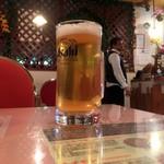 コルカタ - グラス生ビール