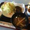 山元 - 料理写真:ランチのハンバーグ膳820円税込