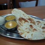 インドダイニング サティー - 料理写真:レディースセットのプレート