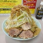 立川マシマシ - 小ラーメン(野菜チョイマシ、魚粉)