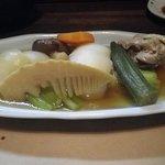 四季彩菜 - 鶏肉と冬野菜の炊き合わせ。