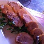 ラ ベラヴィータ - 桜島鶏の燻製