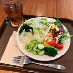 60250964 - モーニングビュッフェ(外来¥2,500) サラダ盛り付け例