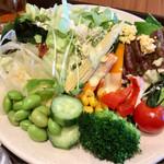 60250969 - モーニングビュッフェ(外来¥2,500) サラダ盛り付け例