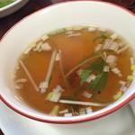 典代婁 - スープ