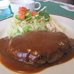 カプチノ - 料理写真:ハンバーグ