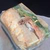 ブルソ・ボナール - 料理写真:フレッシュサラダと卵のサンド