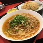 中華料理 大栄飯店 - 大栄麺セット
