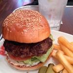 60255045 - ハンバーガー。