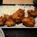 大衆酒場 北海道ながまれ 外苑前 - ザンギ定食 アップ