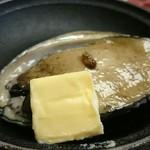 陽いずる紅の宿 勝浦観光ホテル - 料理写真:アワビステーキ
