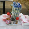 パーラー球美 - 料理写真:テーブル上にあります。