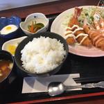蓮 - ダブルフライ定食