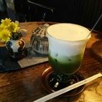 藍花珈琲店 - 茶プチーノ  アイス入り
