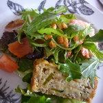 リネア - 料理写真:おすすめランチ魚コース(2100円)~「サラダ仕立てのオードブル」