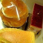 菓子工房 ガトーレーヌ - 料理写真:サバラン・チーズケーキ・木イチゴのケーキ