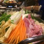 60263567 - 鶏ちゃんこ鍋