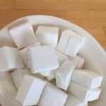 カフェモ・ルタオ - 角砂糖です。1つずつ紙に包まれて。